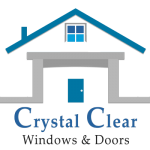 crystal clear windows and doors logo