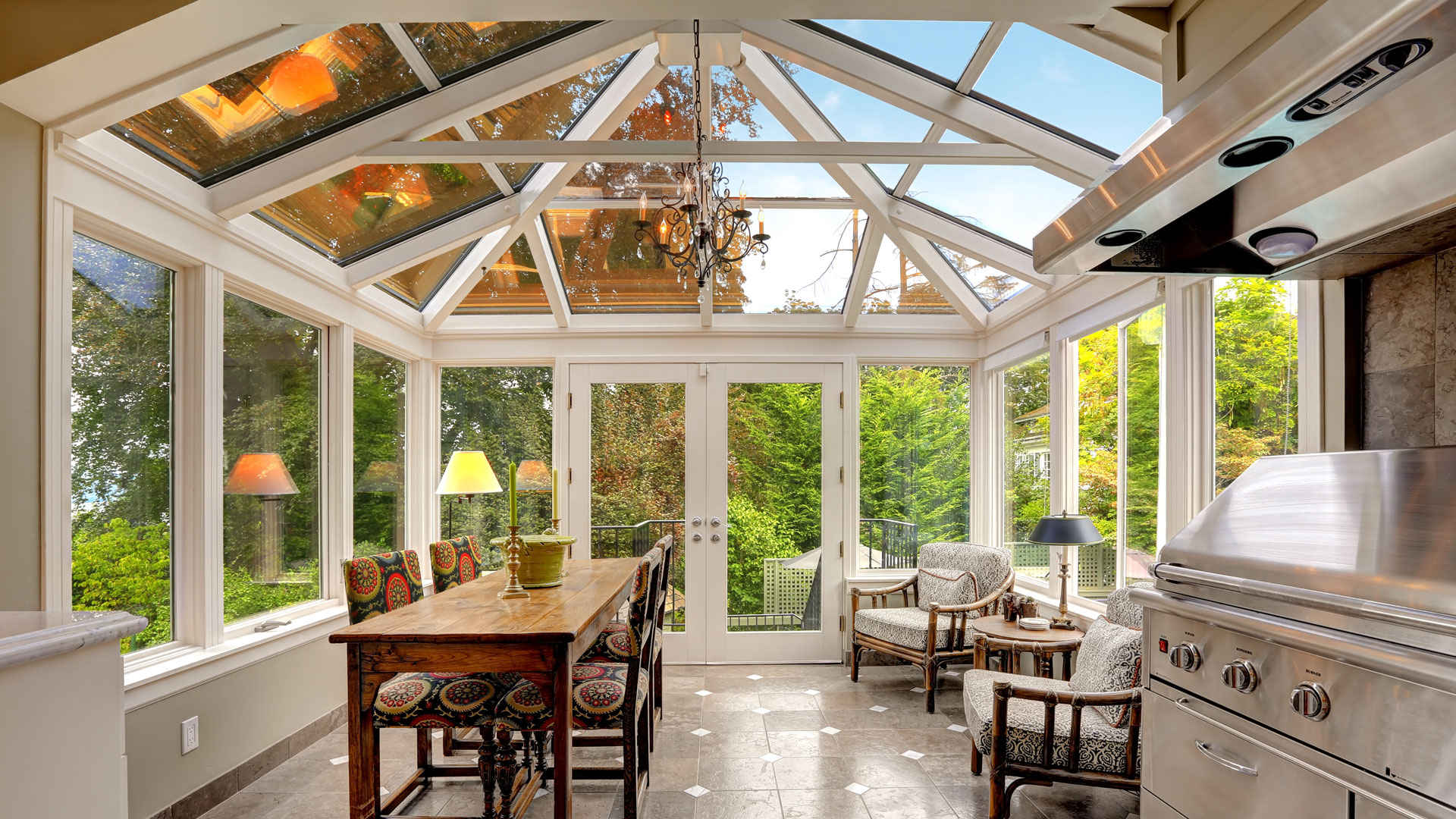 Sunrooms Archives - Crystal Clear Windows and Doors