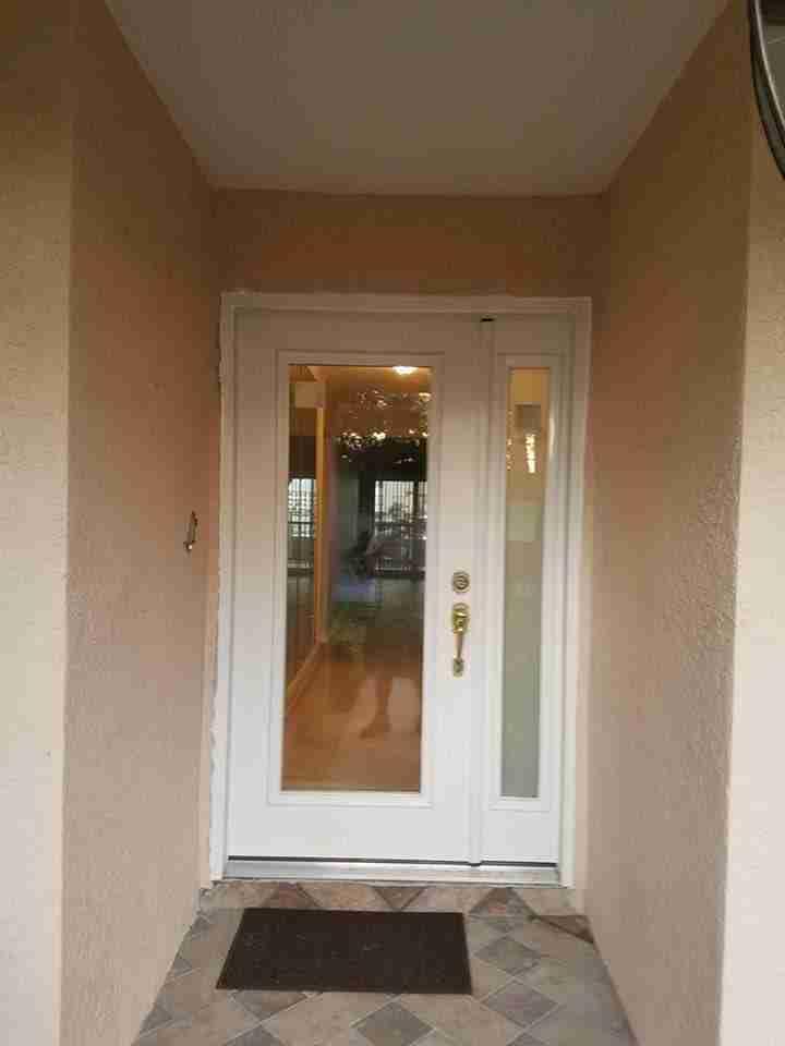 glazed entry doors