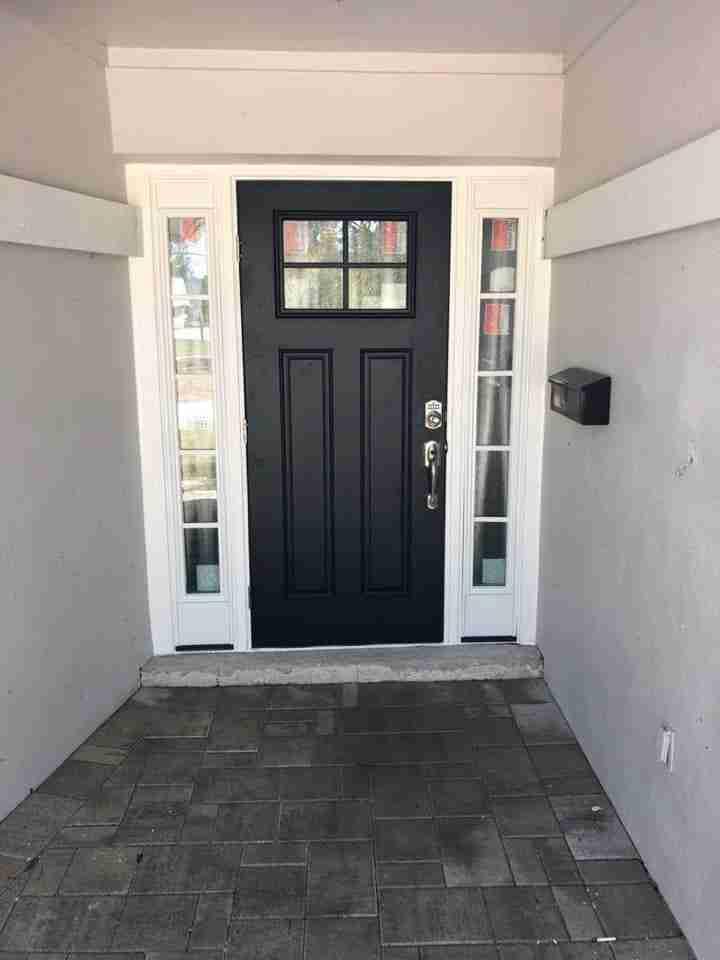 types of doors materials