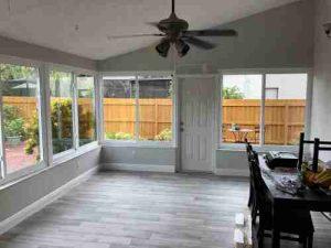 sunroom installation in Clearwater FL