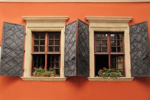 two open replacement windows