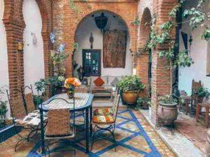 back porch ideas-add furniture