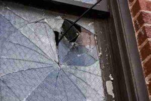 broken window need a replacement