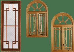 house wood frame windows styles