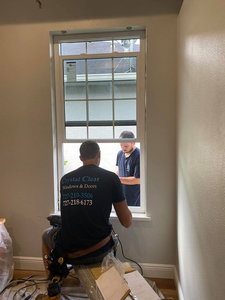 Crystal Clear Windows and Doors workers