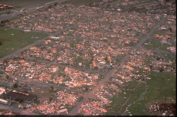 Hurricane Andrew total destruction