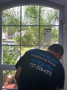 Impact window installation in Palm Harbor, FL