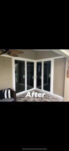 patio sliding door installation