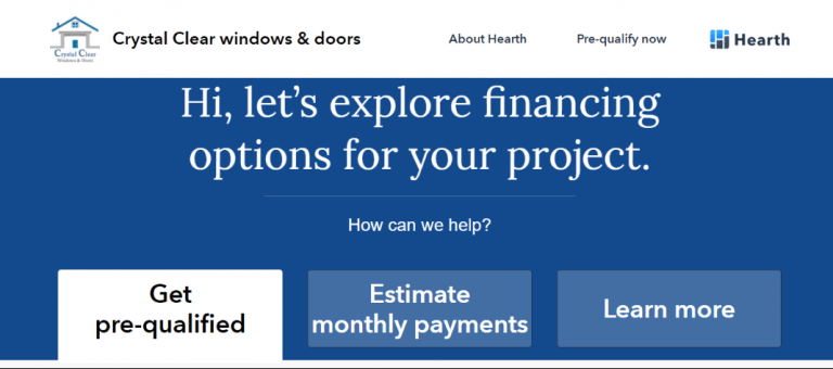 get hearth financing options