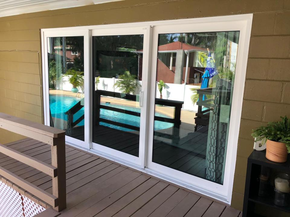 Sliding Glass Doors Replacement!Another Well Done Project By Crystal Clear  Windows U0026 Doors!