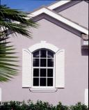 bahama glass window